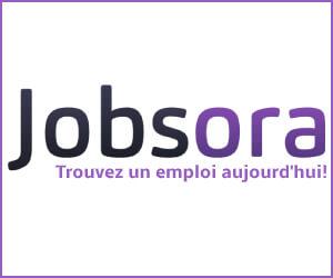 Jobsora, trouvez un emploi aujourd'hui!